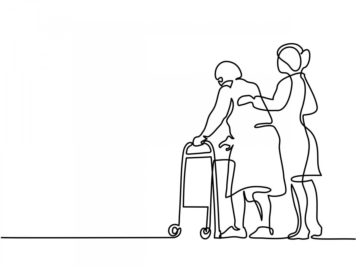 older-lady-walking-outline.jpg image
